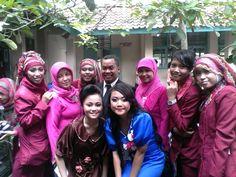 with my teachers