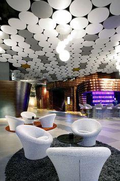 Hotel Silken Diagonal, Armstrong Sufity Podwieszane, ceiling, sufit akustyczny, acoustic, hotele