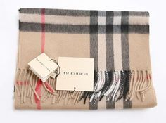 A classic! Burberry Light Camel Giant Cashmere Scarf [BF07] - $128.00 : Authentic Burberry Scarf Sale:High Quality And Lower price