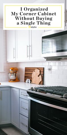 Our editor finally decided to organize her kitchen cabinet — and she did it without buying anything. Here's how she did and tips on how to organize your kitchen and the best way to do it.