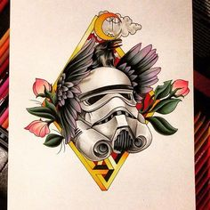@mikemadisontattoo showing off some pencil skills... For more Star Wars art tattoos or men's cosplay follow our other page @forceguys_n_ink by: @force_girls