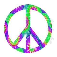 Peace Sign Tie Dye Wall Decals Hippie Groovy Peace Love Retro PC2... ❤ liked on Polyvore featuring home, home decor, wall art, peel and stick wall decals, peace sign, colorful peace sign, peel and stick wall stickers and colorful wall art
