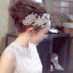 【花嫁の髪型】ブライダルヘアアレンジ基本の全10種類 | marry[マリー]
