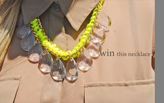 Fashionably Broke: Clutch and Necklace Giveaway! Ends on June 18, click the pic for details