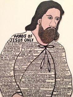 Howard Finster-Words of Jesus Only-Michelle Aldredge1