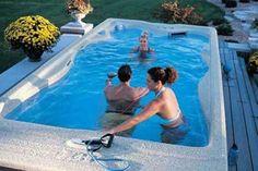 38 Swimspas Ideas Swim Spa Pool Hot Tub
