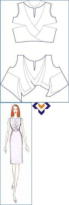 Resultado de imagen para drapeados vestidos de la Fiat