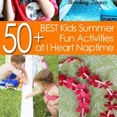 50 of the BEST summer activities for kids