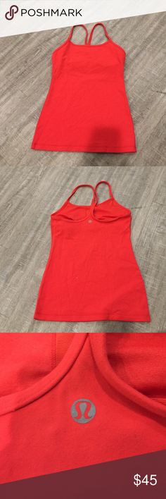 lululemon athletica power y tank top shirt 4 Very good condition! Comment with questions and check out my closet. lululemon athletica Tops Tank Tops