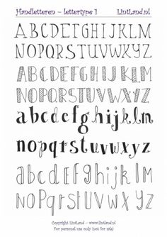 8 different hand lettering fonts you can add to your bullet journal or style up you note taking! I also make bullet journaling videos! Bullet Journal Alphabet, Bullet Journal Writing, Bullet Journal Aesthetic, Bullet Journal Printables, Bullet Journal Ideas Pages, Bullet Journal Inspiration, Bullet Journal Hand Lettering, Beginner Hand Lettering, Poetry Journal