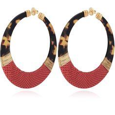 LODGE EARRINGS VLS ACETATE G - Jewelry