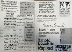 Fase 1 | Lettertypes