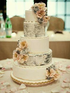 wedding quote cake