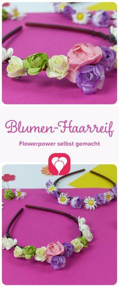 Rose Blume Haarknoten Ring Halterung Girlande Haargummis Blumenmuster band Roll