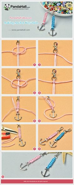 ideas for crafting Keychain to give as a gift Beebeecraft-Ideen zu. Beebeecraft ideas for crafting Keychain to give as a gift Beebeecraft-Ideen zum Baste. , Beebeecraft ideas for crafting Keychain to give as a gift Beebeecraft-Ideen zum Baste. Bracelet Crafts, Jewelry Crafts, Handmade Jewelry, Cheap Jewelry, Macrame Bracelets, Ankle Bracelets, Handmade Accessories, Braclets Diy, Handmade Keychains