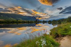 Close to midnight in june, Hemsedal, Norway