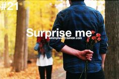 Even though you always give away the surprise.