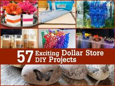 57 Exciting Dollar Store DIY Projects To Try | DIY Tag