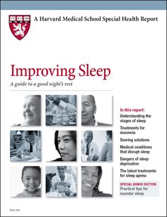 Sleep specialists now agree that behavioral (non-drug) treatments should be the first treatment for most cases of insomnia.