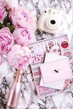 Flatlay, Pink Flatlay, Wedding Flatlay, how to take flatlays, flatlay inspiration, pink, girly, peonies, wedding,flatlay inspiration, blog photography, instagram
