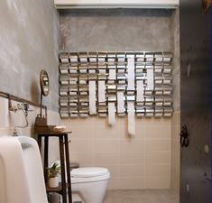 how cool is this...the loo at Second Story, a restaurant in Seoul. Interior design by HS (Hyungsuk) Chung.