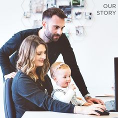 Our Story - Becky Broome The Future Of Us, Etched Glass, Young Couples, Creative Business, Barware, Daughter, Product Launch, Husband, In This Moment