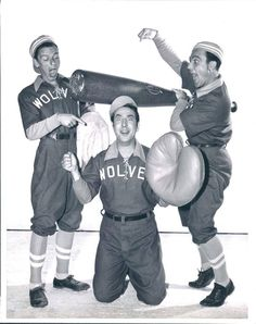Frank Sinatra, Jules Munshin & Gene Kelly