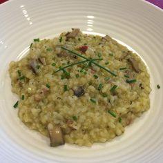 Recipe Portobello mushroom and pancetta risotto by Yuki - Recipe of category Pasta & rice dishes