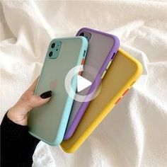 Mint Hybrid Simple Matte Bumper Phone Case for Iphone 11 Pro Max Xr Xs Max 8 7 Plus Shockproof Soft Tpu Silicone Clear Cover Iphone 7 Plus, Iphone 8, Coque Iphone, Apple Iphone, Iphone Charger, Covers Iphone, Color Phone, Nouvel Iphone, Iphone7 Case