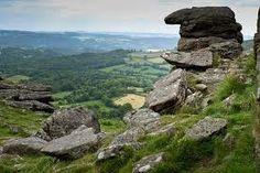 Hound Tor, Dartmoor, Devon, England {blurry pic, but....}