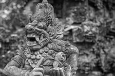 A Statue of Hinduism in Bali, Indonesia