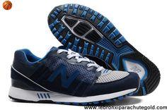 Buy Cheap New Balance NB 751 deep Blue White mesh running shoes