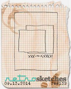 retro sketches : a challenge: retrosketches #132...