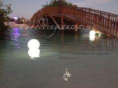 #orbs #submersible #decor at #haciendatresrios #weddingcancun by #latinasia