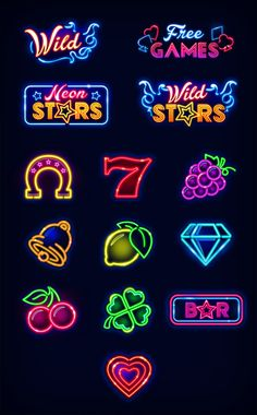 Neon Stars Slot Mach...