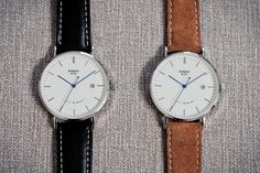 Rossling & Co - Ultra-Thin Automatic Watches & Suede Straps by Rossling & Co. — Kickstarter