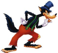 Image result for the big bad wolf cartoon