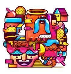 illustration/9 on Behance