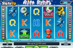 Find a 50 000 jackpot on the aliens' spaceship in the Alien Robots #freeslot! NetEnt developer offers us the Alien Robots slot, the wonderful 5-reel, 243-payline game with cool features, such as Expanding Sticky Wilds, Wild icons, Scatters and up to 50 Free Spins. Befriend a green alien and visit its spaceship at www.SlotsUp.com