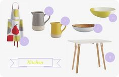 Habitat finds for the kitchen