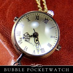 DIY Glass Bubble Pocket Watch Charm in Vintage by AnnieHowes, $11.25