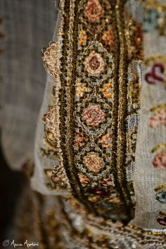 Romanian blouse detail. Adina Nanu collection Textiles, Costume, Traditional, Embroidery, Detail, Blouse, Clothes, Collection, Romania