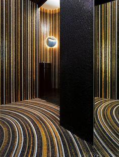 Glass #mosaic STRIPES Mosaico Collection by BISAZZA Mosaico | #design Marco Braga