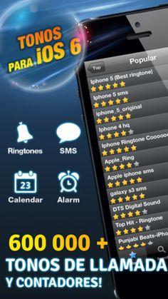 Más de 600.000 Tonos de llamada con esta aplicación