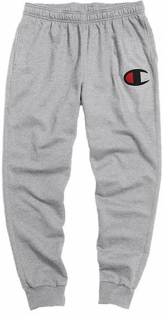 Champion Men's Powerblend C Graphic Joggers, Gray Source by dickssportinggoods outfits mens Cute Lazy Outfits, Chill Outfits, Sporty Outfits, Swag Outfits, Nike Outfits, Athletic Outfits, Trendy Outfits, Fashionable Outfits, Work Outfits