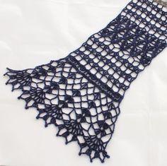 Sjaaltje haken van Supersoft Holst Garn | draadenpapier | Patroon te koop bij NexStitch