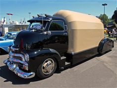 #1954 #Chevy Cabover Camper