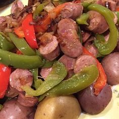 Italian Sausage, Peppers, and Onions - A classic recipe, delicious in sandwiches, over pasta or rice, or just enjoyed on its own.