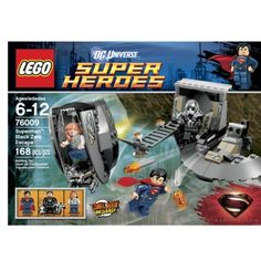 LEGO® Super Heroes Superman™ - Black Zero Escape 76009 Any of these Lego Super Hero kits would be great.  Comment with which set you choose to avoid duplicates.