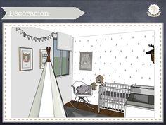 http://kidsmopolitan.com/dormitorio-nordico-para-un-bebe/  #dormitoriodebebé #babyroom #babydeco #decobebé #nórdico #nordic #ikeaforkids #softheads #tipi #deconiños #kidsdeco #newborn